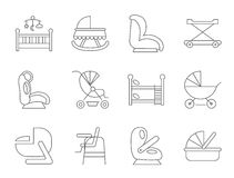 Baby furniture Royalty Free Stock Image