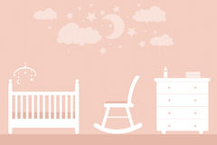 Baby furniture Royalty Free Stock Photos