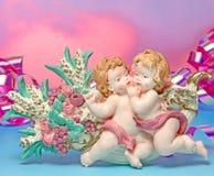 Baby geboren voor uitnodigingskaart Royalty-vrije Stock Foto's