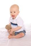 Baby Geologist three Stock Photo