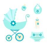 Baby gesetztes newborn-01 Stockbild