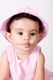 Baby gestures Stock Photo