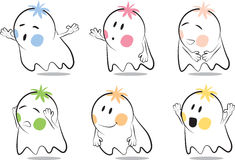 Baby ghost Stock Image