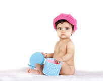 Baby gift Stock Images