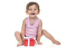 Baby Gift Box Royalty Free Stock Image