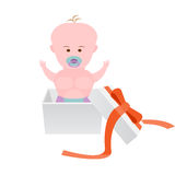 Baby gift Royalty Free Stock Images