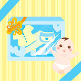 Baby gift and present Stock Image