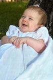 Baby Giggles Stock Photo