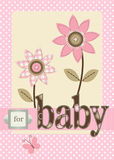 For Baby Girl Royalty Free Stock Photography