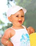 A baby girl Royalty Free Stock Photos