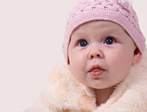 Free Baby Girl Royalty Free Stock Photos - 22155208