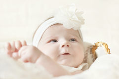 Free Baby Girl Royalty Free Stock Image - 24437956