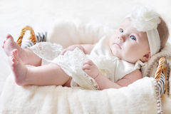 Free Baby Girl Stock Photography - 24438392
