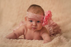Baby girl Stock Photography