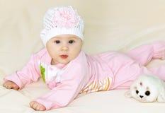 Baby girl Stock Photo