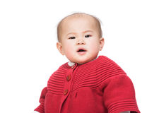 Baby girl stock foto