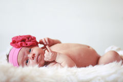 Baby girl Royalty-vrije Stock Fotografie