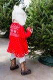 Baby girl Royalty-vrije Stock Foto's