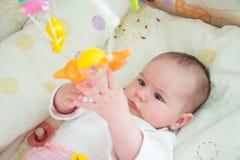 Baby girl Stock Afbeeldingen