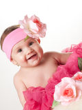 Baby girl, 6 month Royalty Free Stock Photo