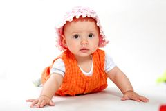 Baby-girl Royalty Free Stock Photos