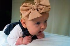 Baby girl Stock Afbeelding