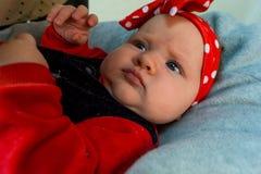 Baby girl Royalty-vrije Stock Foto