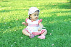 Baby girl asian Royalty Free Stock Photography