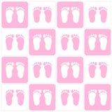 Baby girl background Stock Photo