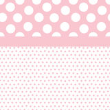 Baby Girl Background Pattern Royalty Free Stock Image