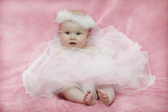 Baby girl ballerina Stock Images