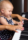 Baby girl. Royalty Free Stock Photography