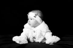 Baby girl Royalty Free Stock Image
