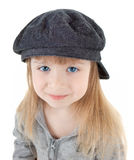 Baby girl in cap Royalty Free Stock Photography