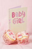 Baby girl celebration Stock Photo