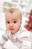 Baby girl closeup Royalty Free Stock Photography