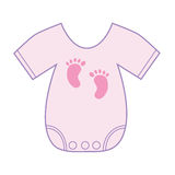 Baby Girl Clothes Royalty Free Stock Photography