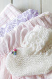 Baby Girl Clothes Gift Royalty Free Stock Photos