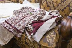 Baby girl cloths Stock Photo