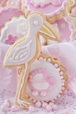 Baby girl cookies Stock Images
