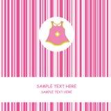 Baby girl dress Royalty Free Stock Image