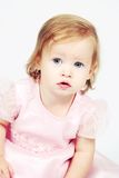 Baby Girl in Dress Royalty Free Stock Image