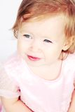 Baby Girl in Dress Royalty Free Stock Photo