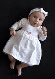 Baby girl in a dress Royalty Free Stock Image