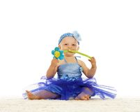 Baby girl in  dress Royalty Free Stock Photography