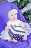 Baby girl gift Royalty Free Stock Photography