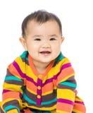Baby girl giggle Stock Image