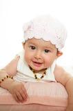 Baby  girl happy Royalty Free Stock Photo