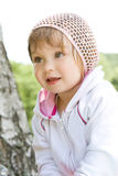 Baby Girl In Park Royalty Free Stock Photography