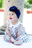 Baby Girl laughing Royalty Free Stock Image